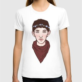 Merlin Flowercrown T-shirt