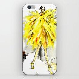Yellow pop up #society6 iPhone Skin