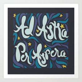 Ad Astra  Art Print