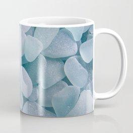 Aqua Sea Glass - Up Close & Personal Coffee Mug