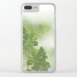 Miharu Shirahata | The day a cloud is born Clear iPhone Case