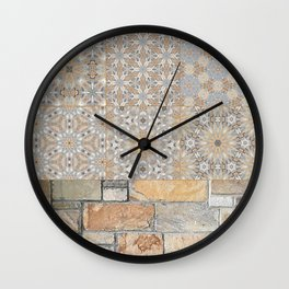 The Alamo Wall Collage 6396 Wall Clock