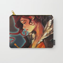 Transistor's Red Carry-All Pouch