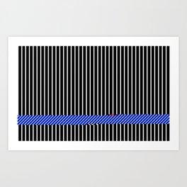 Iluminación breve Art Print
