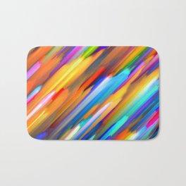 Colorful digital art splashing G391 Bath Mat