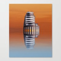 art deco Canvas Prints featuring Art Deco by Shalisa Photography