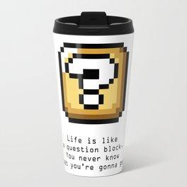 Never know Travel Mug