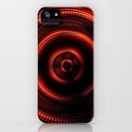 Red Shockwave iPhone Case