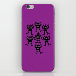 Surrounded by Idiots iPhone Skin