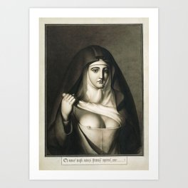The Awful Disclosures of Maria Monk Art Print