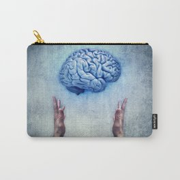 holding brain Carry-All Pouch