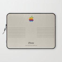 iPhone Macintosh retro design Laptop Sleeve