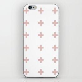 +++ (Pink) iPhone Skin