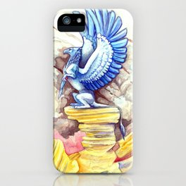 Desert Gryphon iPhone Case