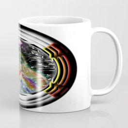 """Beez Lee Art : Love Leads Through Circle Darkness"" Coffee Mug"