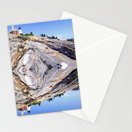 Love from Pemaquid, Maine Stationery Cards