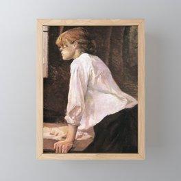 The Laundress by HT-L Framed Mini Art Print