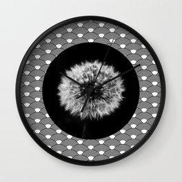 dandelion summer Wall Clock