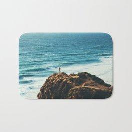 Ocean Waves Bath Mat