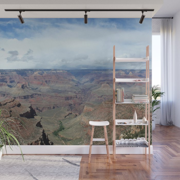 Majestic Grand Canyon Photo - Space to Breathe Wall Sticker by Christine aka stine1