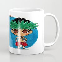 hawaii Mugs featuring Hawaii by sakurajoker