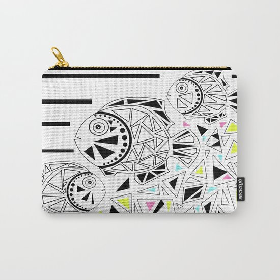 Marine fish . Carry-All Pouch