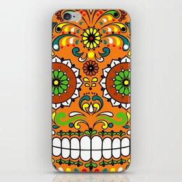 Sugar Skull #8 iPhone Skin