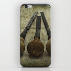 Vintage Chisels iPhone & iPod Skin