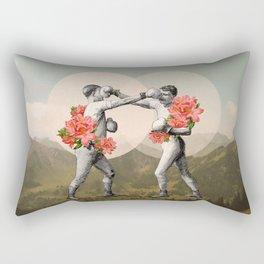 Foes before hoes. Rectangular Pillow