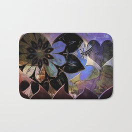 Love flower pattern Bath Mat