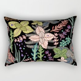 mysterious herbs Rectangular Pillow