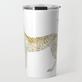 Cheetah in Jungle Travel Mug
