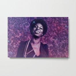 BLM Eunice Kathleen Waymon - Society6 Online Black Is Beautiful Photography Nina Simone Home Art  33 Metal Print