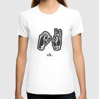 kim sy ok T-shirts featuring ok by Chloe PurR