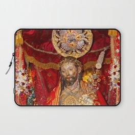 Senhor Santo Cristo dos Milagres Laptop Sleeve