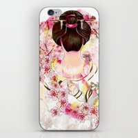 japanese iPhone & iPod Skins featuring Japanese by Felicia Cirstea