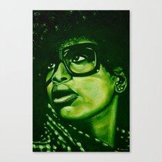 badu?!-green Canvas Print