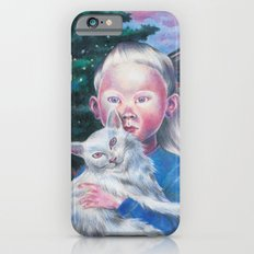 Albino cat iPhone 6s Slim Case