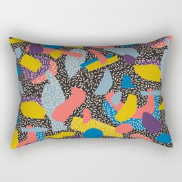 Memphis Inspired Pattern 1 Rectangular Pillow