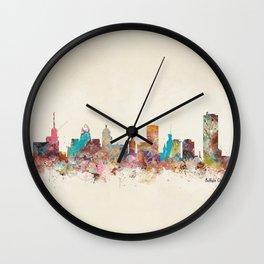buffalo city new york  Wall Clock