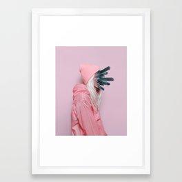 CRYSTLfce Framed Art Print