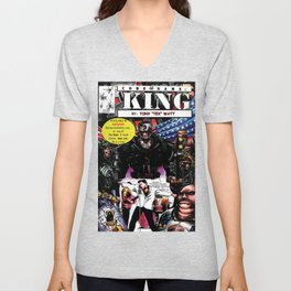 """Code Name: King""  - Comic Book Promo Poster  Unisex V-Neck"