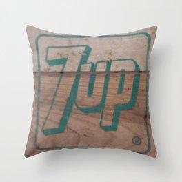 7up Throw Pillow
