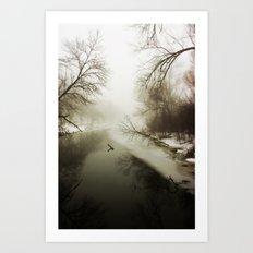 River Songs Art Print