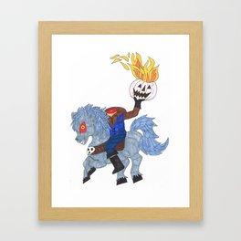Headless Horseman Framed Art Print
