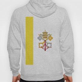 Vatican City Holy See flag emblem Hoody