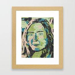 Anna Carte Framed Art Print