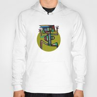 dancer Hoodies featuring Dancer by Rudolf Brancovsky