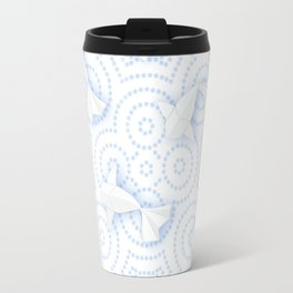 Origami Koi Fishes (Porcelain Version) Travel Mug