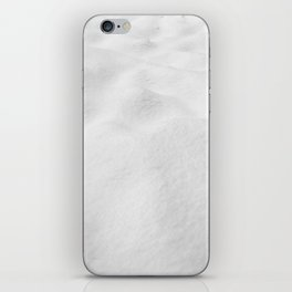 Snowscape // High Resolution Snow Drift Close Up Landscape Photo Winter Vibes iPhone Skin